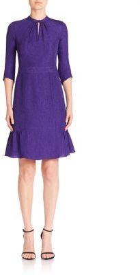 Nanette Lepore Nouveau Silk Paisley-Print Dress $448 thestylecure.com