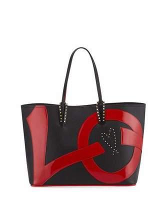 Christian Louboutin Cabata Love Calf Empire Paris Tote Bag