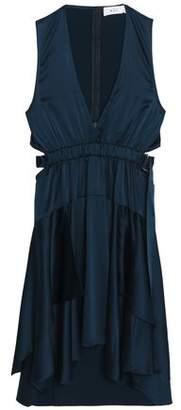 A.L.C. (エーエルシー) - A.l.c. Cutout Silk-Blend Satin Mini Dress