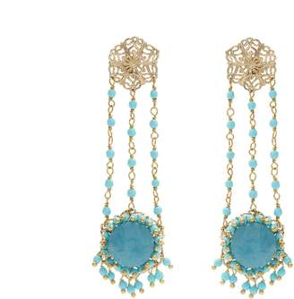 Rosantica BY MICHELA PANERO Corte drop earrings