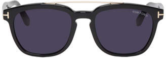 Tom Ford Black Holt Sunglasses