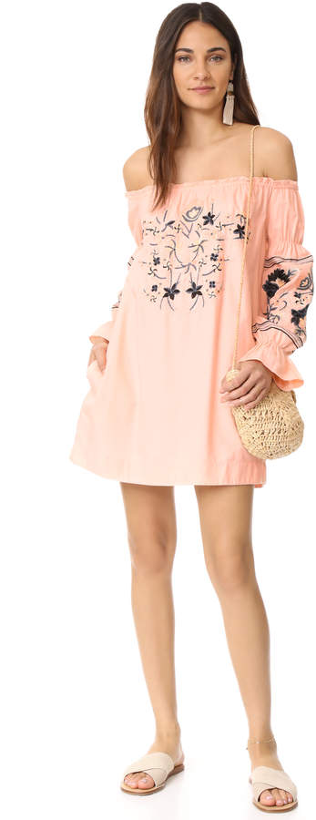 Free People Fleur Du Jour Mini Dress 2