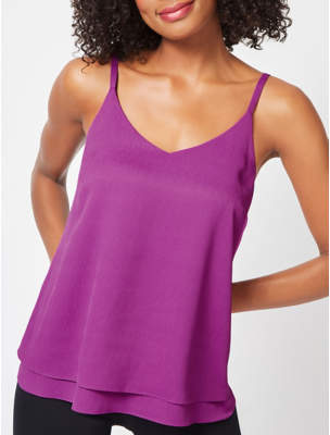 George Plum Double Layer Camisole