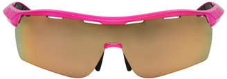 Stella McCartney Pink Runway Shield Sunglasses
