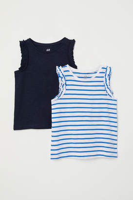 H&M 2-pack Tank Tops - White