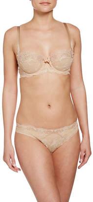 Lise Charmel Ultra Feminin Lace Thong, Nude
