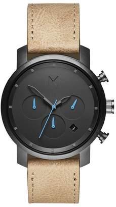 MVMT chrono 40MM Series - 40 mmGunmetal Sandstone