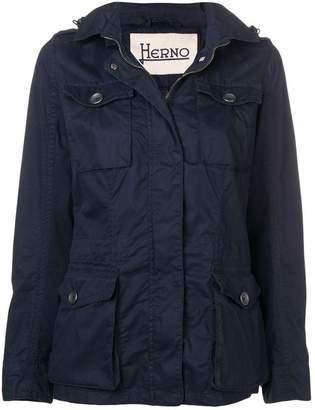 Herno blue lightweight jacket