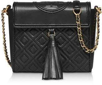 Tory Burch Fleming Convertible Quilted Leather Box Crossbody Bag