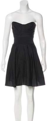 Elizabeth and James Strapless A-line Dress