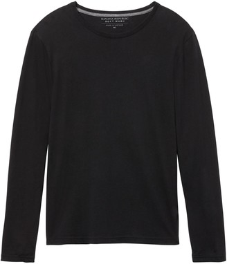 Banana Republic Soft Wash Crew-Neck T-Shirt