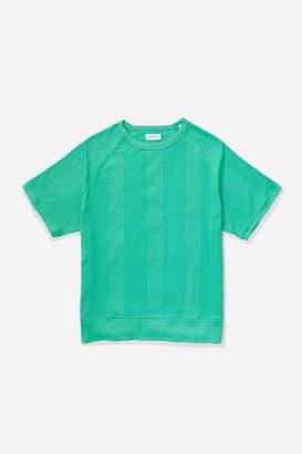 Saturdays NYC Kyrie Waffle Stripe Short Sleeve Shirt