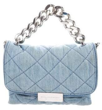 Stella McCartney Soft Denim Beckett Bag