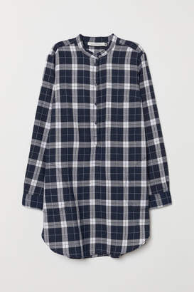H&M Plaid Tunic - Blue