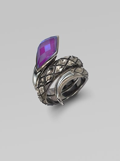 Stephen Webster Purple Sugalite & Sterling Silver Ring