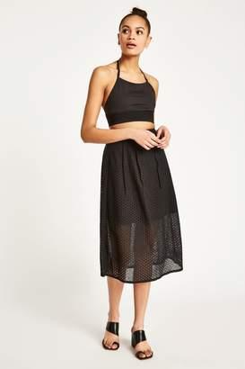 Jack Wills Oakleigh Lace Midi Skirt