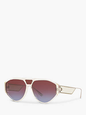 ca8fcca04e1b at John Lewis and Partners · Christian Dior DiorClan1 Women's Aviator  Sunglasses