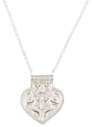 Amrapali Diamond Small Peacock Pendant Necklace