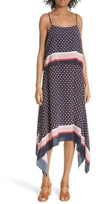 Joie Seia Handkerchief Silk Dress