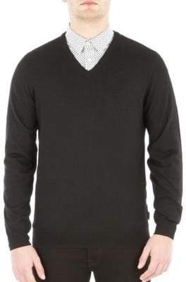 Ben Sherman V-Neck Wool Sweater