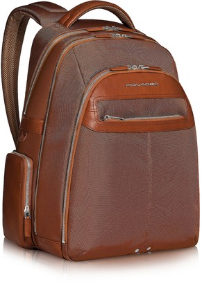 Piquadro Link - Multi-pocket Laptop Backpack