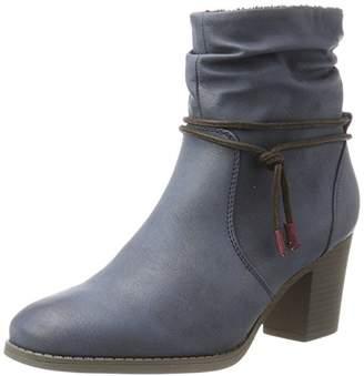JANE KLAIN Women 253 563 Cowboy Boots Blue Size: