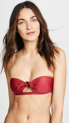 Vix Paula Hermanny Cutout Bandeau Bikini Top