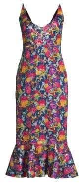 Saloni Aidan Floral Dress