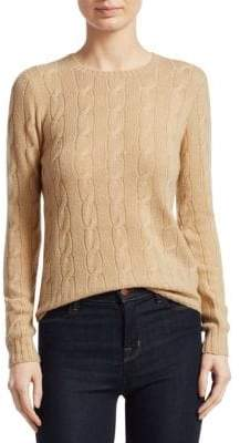 Ralph Lauren Collection Cable Crewneck Sweater