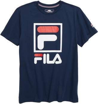 Fila Stacked Logo T-Shirt