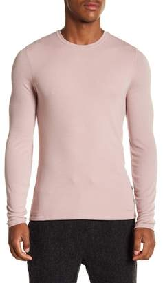 ATM Anthony Thomas Melillo Modal Ribbed Long Sleeve Tee