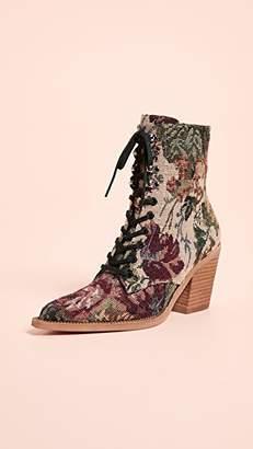 Jeffrey Campbell Elmace Lace Up Boots