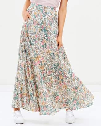 Spring Rose Wylde Maxi Skirt