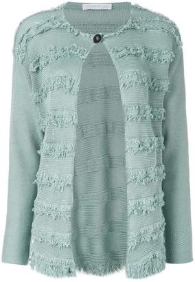Fabiana Filippi frayed stripe cardigan