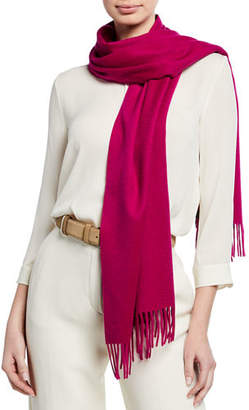 negozio online a27d2 0e727 Loro Piana Purple Cashmere Women's Scarves - ShopStyle