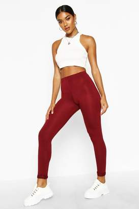 boohoo Basic Jersey Leggings