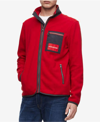 Calvin Klein Jeans Men's Polar Fleece Jacket