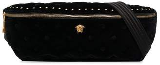 Versace Medusa Studded Crossbody Bag