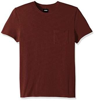 Hudson Men's Crewneck Pocket Tee Shirt