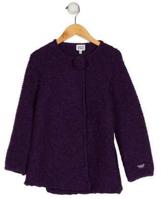 Armani Junior Girls' Knit Sweater