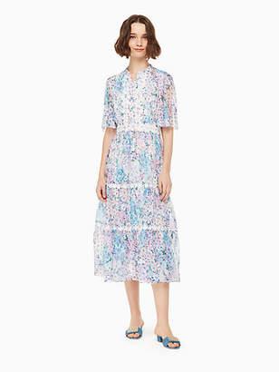 Kate Spade Daisy garden midi dress