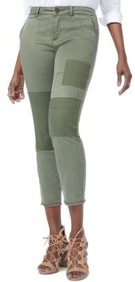NYDJ Reverse Patch Skinny Chino Pants