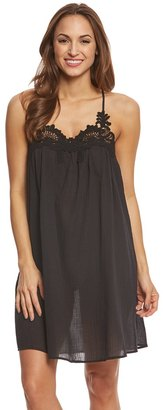 Seafolly Vintage Wildflower Lace Detail Swing Dress 8158458 $142 thestylecure.com