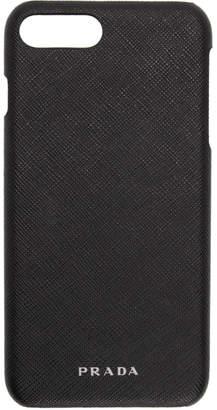 Prada Black Saffiano iPhone 7 Plus Case