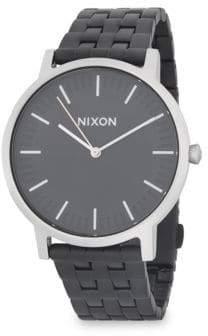 Nixon Porter Stainless Steel Strap Watch