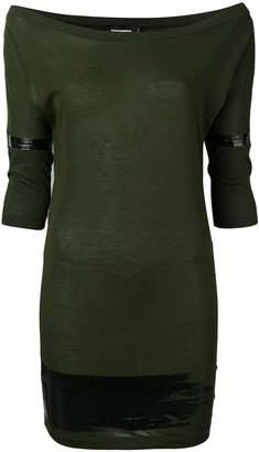 DSQUARED2 off the shoulder short dress