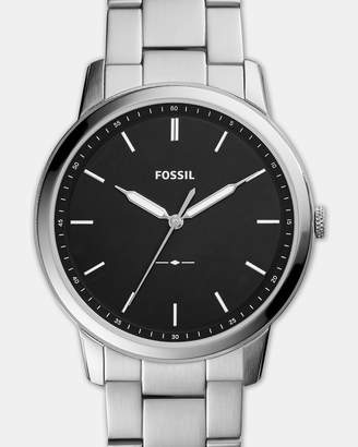 Fossil The Minimalist Silver Tone Analogue Watch