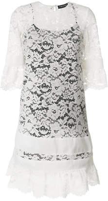 Twin-Set lace midi dress