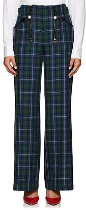 Opening Ceremony Women's Embellished Plaid Pants