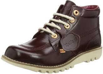 Kickers Womens Leather Kick Hi Boots